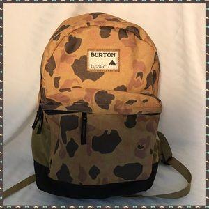NWOT Burton Camo Backpack